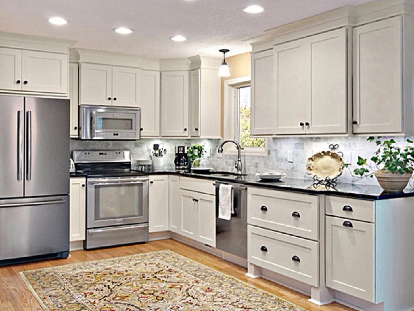 cabinet refinishing castle rock - Kitchen Cabinet Repainting