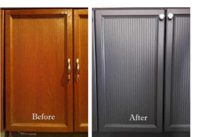 Cabinet refinishing and cabinet painting Denver