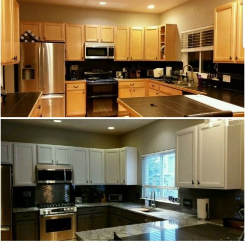 Cabinet Refinishing in Denver co