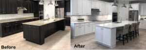 Cabinet refinishing Denver Colorado